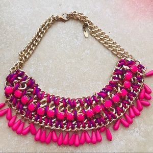 Studio F Pink Drop Necklace